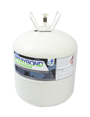 Spraybond EPDM Single Ply Contact EPDM Canister Adhesive