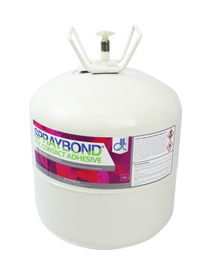 Spraybond PVC Canister Adhesive